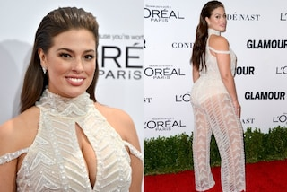 Ashley Graham: sedere in mostra sul red carpet