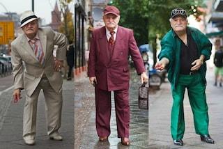 Ali, il nonnino che a 86 anni diventa icona di stile