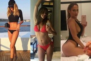 Splendide 50enni in bikini: J.Lo e Cindy Crawford non temono l'avanzare dell'età