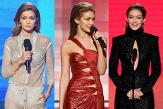 Gigi Hadid regina di stile agli AMA 2016: i 5 cambi d'abito della modella