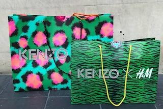 Modaioli in delirio: file di notte per avere un capo della collezione Kenzo x H&M