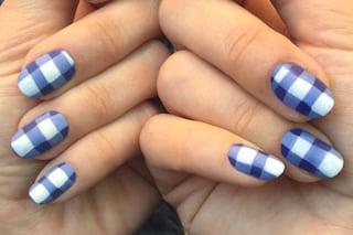 Le unghie della settimana: vichy nail art