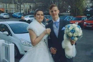Con le donazioni del web realizza il sogno della ragazza malata: sposarsi prima di morire