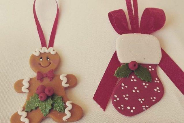 Pasta Di Mais Lavoretti Per Natale.Decorazioni Natalizie Con La Pasta Di Mais Idee Per Addobbi