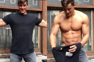 Pietro Boselli, il professore hot, mostra i muscoli e il video diventa virale
