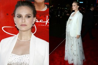 "Natalie Portman bellissima incinta: pancione in mostra alla prima di ""Jackie"""