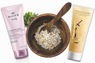 Scrub viso e corpo per l'inverno: cosmetici e ricette fai da te