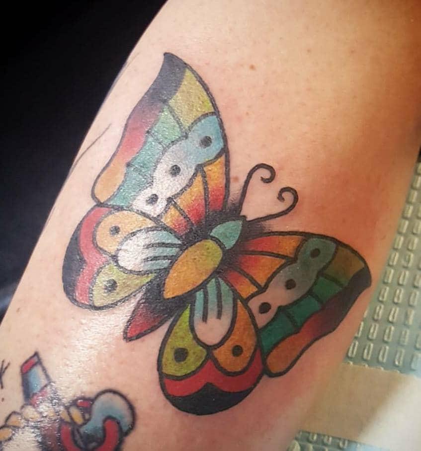Tatuaggi Farfalle Significati E Idee Da Realizzare Foto