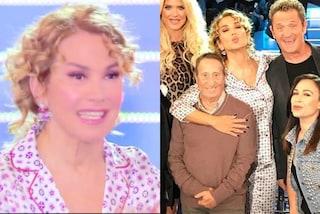 Barbara D'Urso lo fa ancora: in diretta tv con il pigiama