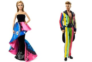 Barbie e Ken in versione punk sul red carpet: la nuova bambola vestita da Moschino