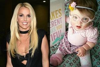 La gaffe di Britney: posta la foto della bimba Down, la mamma reagisce così