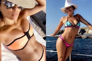 Eva Longoria in bikini: a 41 anni mostra un fisico perfetto