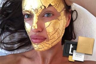 La maschera d'oro che fa impazzire le star: cos'è, dove farla e quanto costa