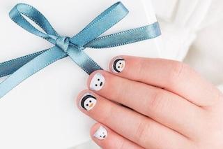 Le unghie della settimana: la manicure con i pinguini