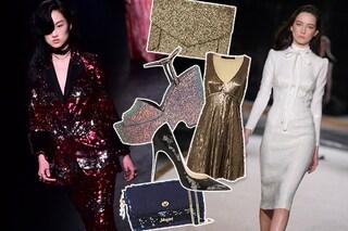 Come vestirsi a Capodanno 2016: paillettes e glitter per il party di fine anno