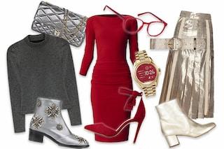 Rosso, oro o argento: quale look per le feste scegli?