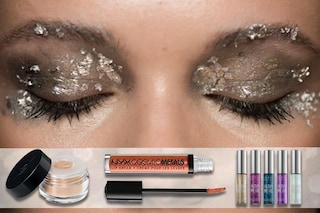 Il make up di Natale 2016: trucco metallico per le feste