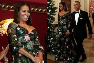 Michelle Obama sceglie Gucci: l'ex First Lady non resiste alla moda italiana