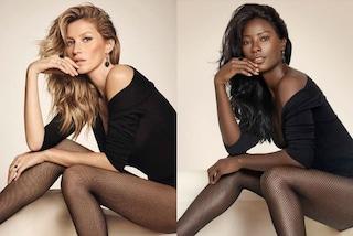 Deddeh, la modella di colore che riproduce le foto delle top bianche e sfida i pregiudizi