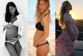 Star in gravidanza: le celebrities che hanno mostrato il pancione sui social nel 2016