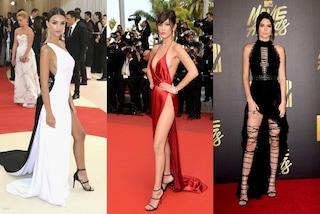 Spacchi hot e trasparenze, ecco i look più sexy delle star nel 2016
