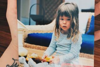 Aurora Ramazzotti da piccola: la figlia di Michelle posta la foto della sua infanzia