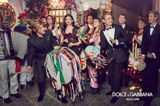 """I Millenials conquistano Capri: i """"figli di"""" sono i modelli preferiti da Dolce&Gabbana"""