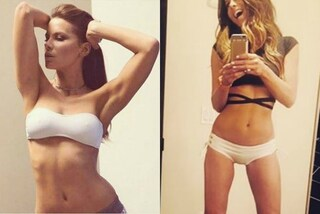 Addominali scolpiti e fisico asciutto: a 43 anni Kate Beckinsale è più in forma che mai