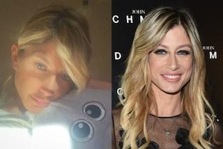 Maddalena Corvaglia senza trucco: l'ex velina prima e dopo il make-up