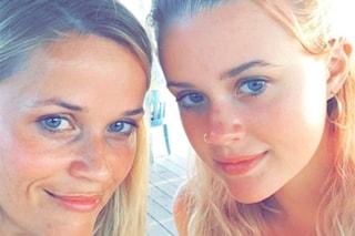 Come sorelle: Reese Witherspoon e la figlia Ava Elizabeth sono due gocce d'acqua