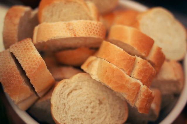 il pane è buono nella dieta
