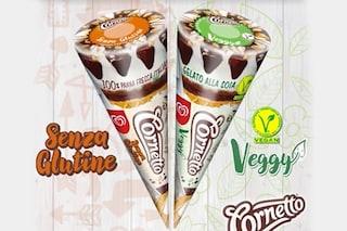 """Cornetto Veggy e senza glutine, arriva il """"cuore di panna"""" per vegani e celiaci"""