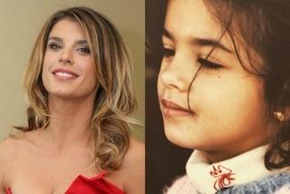 Elisabetta Canalis da bambina: la showgirl condivide la foto di quand'era piccola