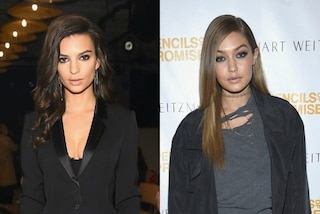 Milano Fashion Week: Emily Ratajkowski e Gigi Hadid incontrano i fan