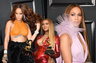 Grammy 2017, i look delle star: J.Lo e Rihanna rubano la scena a Beyoncé