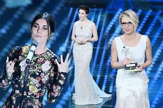 Sanremo 2017, i commenti (cattivi) del web: la Atzei come un divano e i capezzoli di Maria