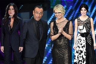 Sanremo 2017, i look seconda serata: diamo i voti agli abiti