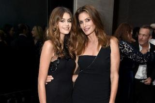 Madri e figlie star: glamour e look coordinati