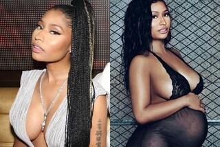 Nicki Minaj incinta mostra il pancione sui social, è solo uno scherzo per i fan