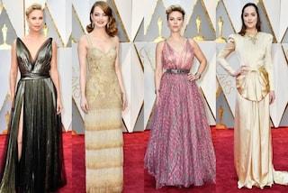 Oscar 2017: tutti i look sul red carpet delle star