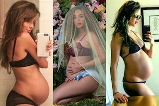 Gravidanze social: le star che hanno mostrato il pancione su Instagram