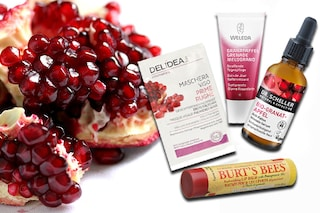 Tutti i prodotti beauty e i rimedi di bellezza a base di melagrana