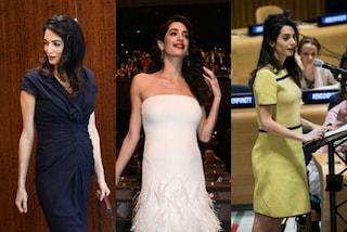 Il premaman chic: Amal Clooney mostra come essere eleganti anche in gravidanza