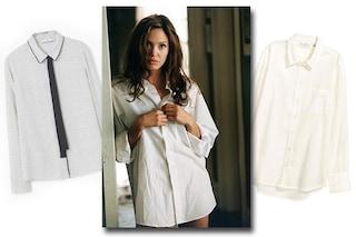 La camicia bianca da uomo, il capo più sexy per una donna