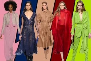 Rosa, rosso e nude: i colori di moda per l'Autunno/Inverno 2017-2018