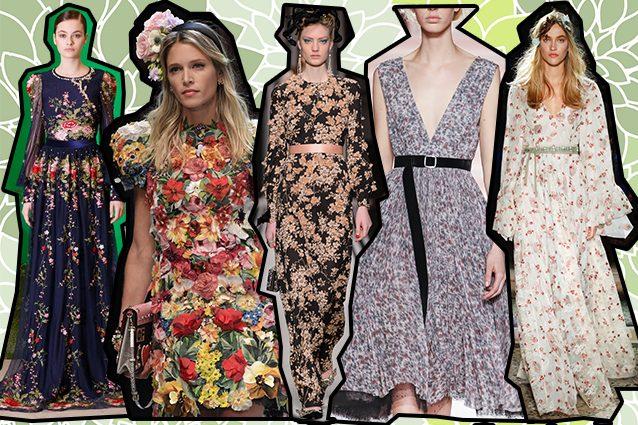 da sinistra Piccione.Piccione, Dolce e Gabbana, Elisabetta Franchi, Philosophy di Lorenzo Serafini, Luisa Beccaria
