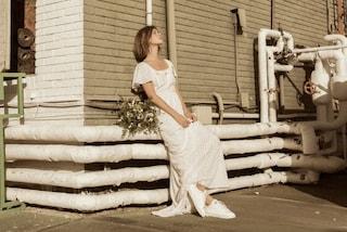 """Non ami tulle e abiti """"meringa""""? Ecco i vestiti da sposa perfetti per te"""