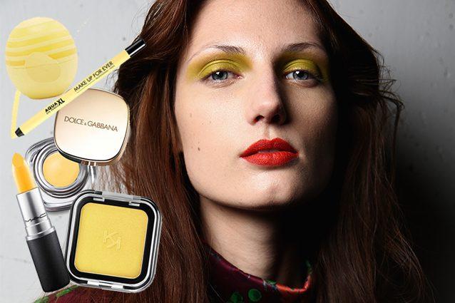 Quando si parla di giallo nel make up si pensa sempre a look esagerati e  audaci  il giallo però d7b6003c1be