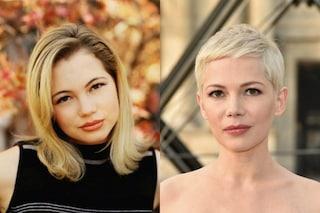 Michelle Williams, la trasformazione da Jen di Dawson's Creek a diva sofisticata