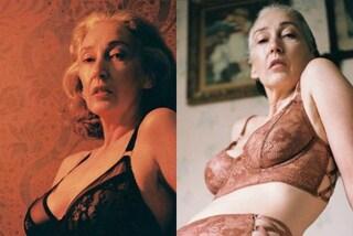 """""""Invecchiare è bellissimo"""": Mercy diventa modella di intimo a 57 anni"""